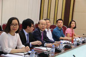 Thứ trưởng Nguyễn Văn Công làm việc với Hiệp hội Xúc tiến ngoại giao nhân dân Nhật Bản