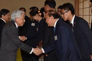 Thủ tướng Nguyễn Xuân Phúc yết kiến Nhà vua và Hoàng thái tử Nhật Bản