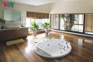 Mê mẩn những mẫu phòng tắm đẹp trong kiến trúc nhà hiện đại