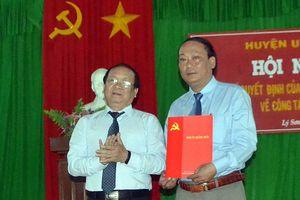 Huyện đảo Lý Sơn có Chủ tịch UBND huyện mới