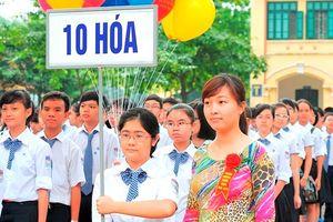 Năm 2019, chỉ tiêu tuyển sinh lớp 10 công lập Hà Nội giảm khoảng 3.000 học sinh