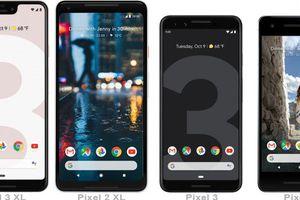Google Pixel 3 và Pixel 3 XL: màn hình lớn hơn, sạc không dây, camera selfie kép, giá từ 799 USD