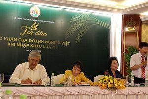 Cấm nhập lúa mì nhiễm cỏ dại: Doanh nghiệp đứng ngồi không yên
