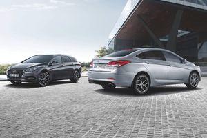 Hyundai cải tiến thiết kế và động cơ cho bộ đôi i40