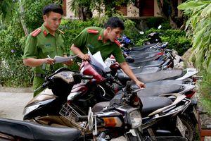 5 thanh niên liên quan vụ trộm 18 xe máy sa lưới