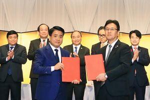 Hà Nội ký 3 bản ghi nhớ hợp tác trị giá 1 tỷ USD với doanh nghiệp Nhật Bản