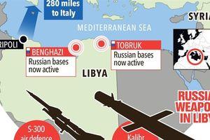 Anh lo lắng Nga vào Libya sẽ bóp nghẹt phương Tây