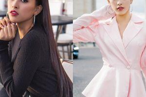Hoa hậu Trần Tiểu Vy đẹp sang trọng giữa phố Paris