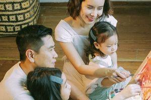 Lưu Hương Giang khoe ảnh con gái thứ hai giống hệt bố sau 2 năm giấu kín