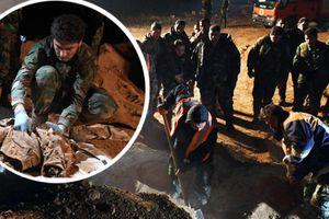 Syria: Phát hiện điều khủng khiếp chưa từng thấy ở Raqqa