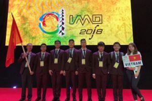 Học sinh Việt Nam ghi dấu ấn tại các đấu trường thành tích cao