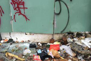 Bãi rác tự phát giữa khu dân cư