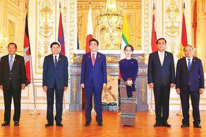 Nâng quan hệ các nước Mekong - Nhật Bản lên Đối tác chiến lược