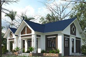 10 mẫu nhà 1 tầng mái thái lên ngôi năm 2019