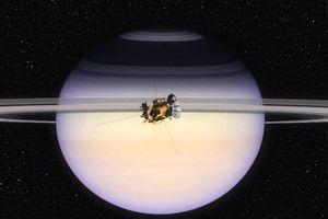 Mưa đá từ vành đai sao Thổ
