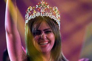 Hoa hậu Iraq chạy trốn khỏi đất nước vì bị khủng bố IS dọa giết