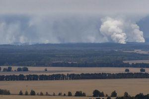 Kho đạn của Bộ quốc phòng Ukraine cháy nổ dữ dội, nghi có phá hoại