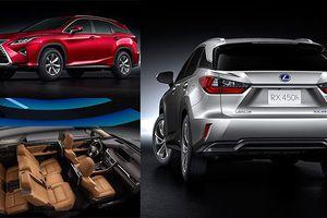 Lexus RX 350L và RX 450h: Đột phá thiết kế, công nghệ hàng đầu
