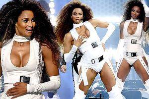 Siêu nóng bỏng và hoang dại, ca sĩ Ciara 'thiêu đốt' sân khấu AMAs