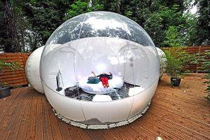 8 khách sạn bong bóng độc đáo thu hút người yêu du lịch