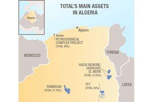 Total ký thỏa thuận với Sonatrach để phát triển khí đốt của Algeria