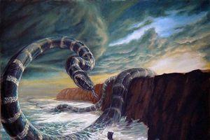 Truyền thuyết ám ảnh về loài 'rắn biển khổng lồ'