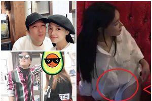 Nhã Phương lại lộ ảnh khệ nệ bụng lớn, ngồi ghế cho bà bầu tại Hàn Quốc