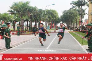 Bộ CHQS Hà Tĩnh giành giải ba bóng đá nam Hội thao TDTT Quân khu 4