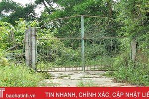 Tranh chấp đất ở Vũ Quang: Dân cần nhưng 'quan' không vội!