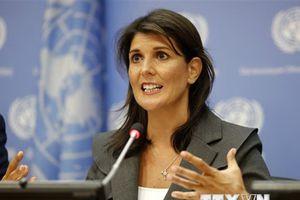 Tổng thư ký LHQ đánh giá cao sự hợp tác của Đại sứ Mỹ Nikki Haley