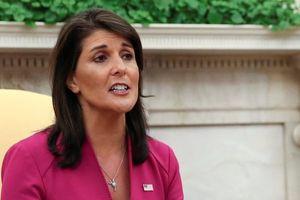 Đại sứ Mỹ tại Liên Hợp Quốc Haley từ chức giữa nhiều đồn đoán