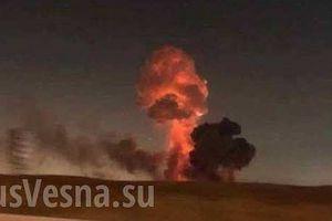 Nổ kho vũ khí kỹ thuật khổng lồ của quân đội Ukraine