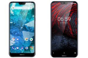 Nokia 7.1 và Nokia 6.1 Plus: giống nhiều hơn khác