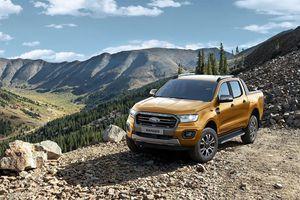 Ford Ranger tái chiếm ngôi vương phân khúc bán tải