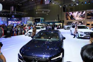 Gần 120 mẫu xe trưng bày tại triển lãm ô tô Việt Nam 2018