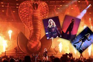 Click để xem ngay sân khấu hoành tráng với rắn khổng lồ của Taylor Swift - xác nhận đẳng cấp huyền thoại