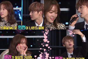 'Happy Together 4': Kém 12 tuổi, Hwang Min Hyun (Wanna One) làm gì khiến 'noona' Han Ji Min đổ gục?