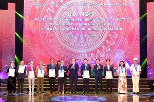 Hà Nội: Biểu dương hơn 1000 gương điển hình tiên tiến, người tốt việc tốt, doanh nghiệp và doanh nhân tiêu biểu