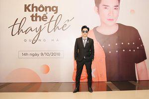 Việt Anh 'chửi' Quang Hà trong họp báo ra mắt MV