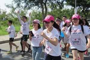 Chạy bộ gây quỹ hỗ trợ bệnh nhi ung thư Việt Nam