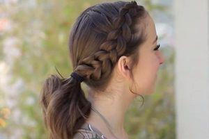 Tổng hợp 6 kiểu tóc gọn gàng cho chị em vào những ngày mưa gió