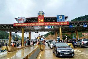 Thông xe cao tốc, đi Hà Nội – Hòa Bình chỉ mất 60 phút