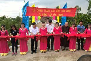 Lai Vung khánh thành 3 cây cầu nông thôn