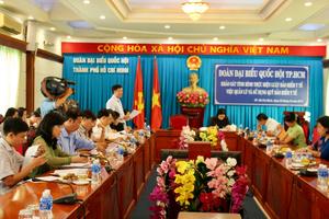 Đoàn đại biểu Quốc hội TPHCM khảo sát thực hiện Luật Bảo hiểm Y tế
