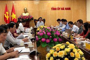 Hà Nam cần khắc phục những hạn chế trong thực hiện Nghị quyết Trung ương 4 và Chỉ thị 05