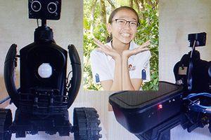 Giải pháp 'Robot an ninh' của nữ sinh trường làng