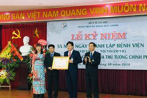 BVĐK Đức Giang đón nhận Bằng khen của Thủ tướng Chính phủ