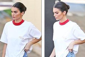 Ngắm vẻ đẹp đời thường giản dị của nàng mẫu Kendall Jenner