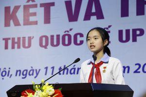 Nữ sinh Việt Nam đoạt giải Ba cuộc thi viết thư quốc tế UPU