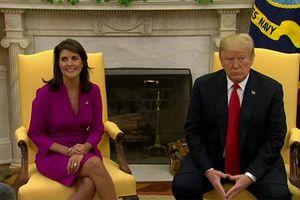 Đại sứ Mỹ tại Liên Hợp Quốc từ chức: 'Cú sốc lớn' với ông Trump